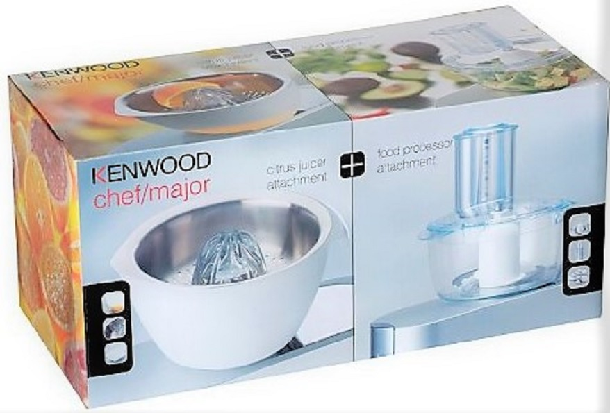 Kenwood MA361 Citrus Juicer And Food Processor Attachment Pack - Titanium  Only