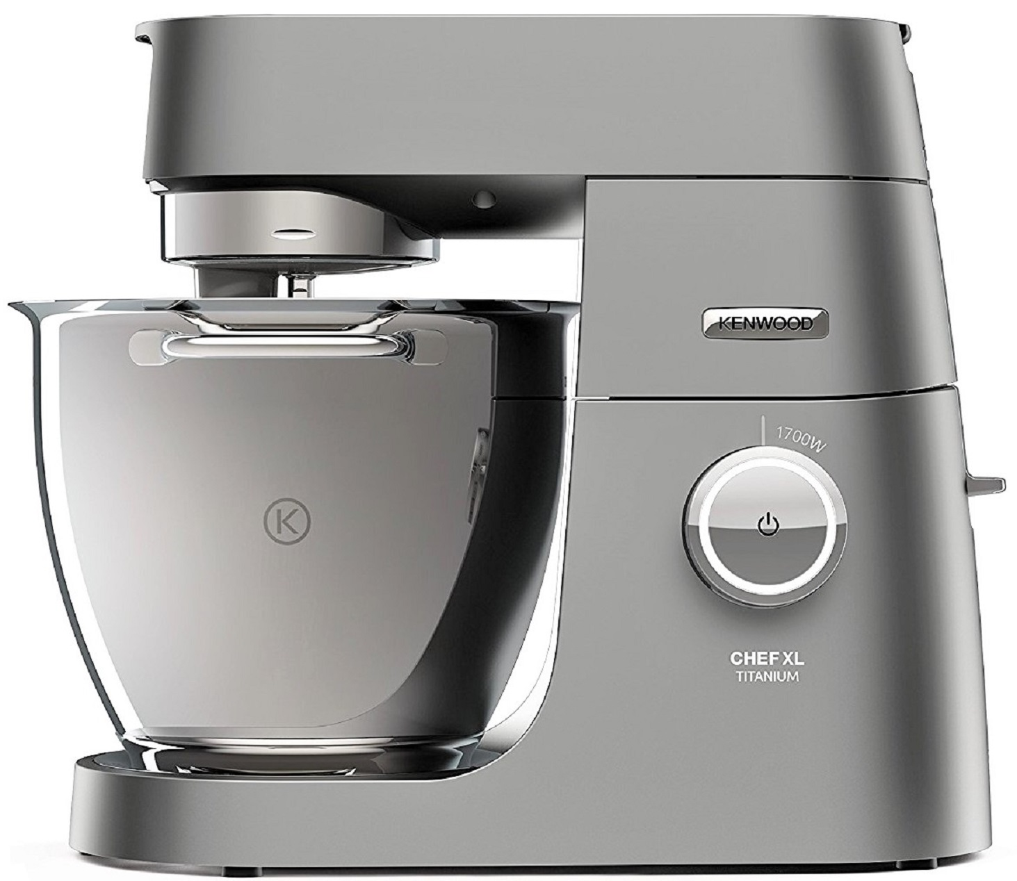 Kenwood kvl8300s compact chef titanium xl 6 7l food for Cuisson vapeur kenwood cooking chef